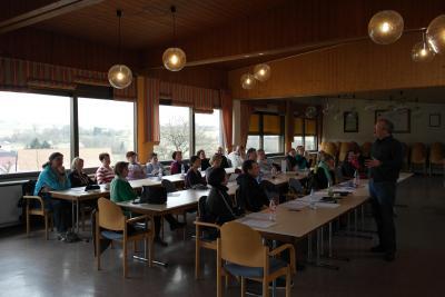 """Foto zur Meldung: Erfolgreicher Workshop """"Vom Blatt singen - Step by Step"""""""