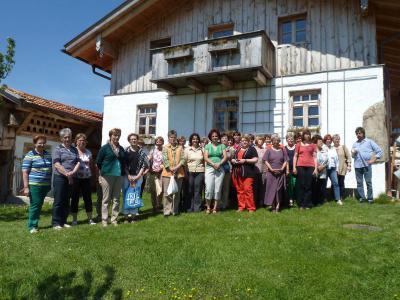 Foto zur Meldung: Führungskräfte des FB-Bezirks Bad Kötzting im Zweigverein Moosbach/Altrandsberg
