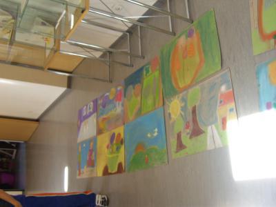 Foto zur Meldung: Projekttag der Klasse 4a