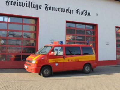 Foto zur Meldung: Objektalarm - Schloß Roßla