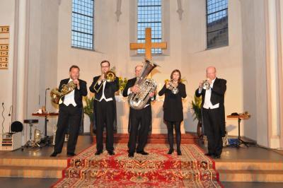 """Foto zu Meldung: """"Harmonic Brass"""" begeisterte in Fehrow"""