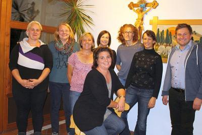 Foto zur Meldung: Im Kindergarten St. Georg wurde ein neuer Elternbeirat gewählt