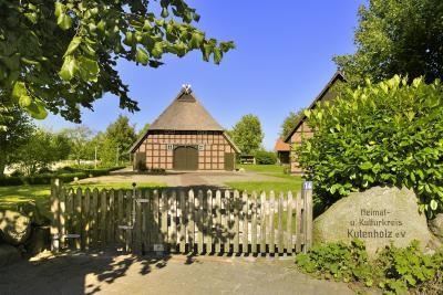 Kutenholz, Heimathaus. Foto: A. Dittmer