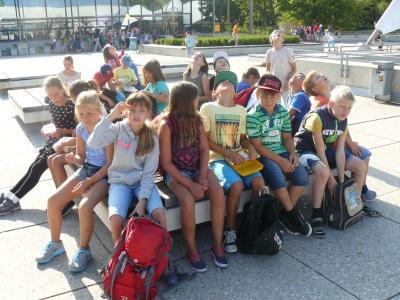 Foto zur Meldung: Mundelsheimer Schüler feiern das Lernen