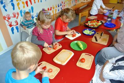 """Foto zu Meldung: Bericht der Kindertagespflege """"Kwirlies"""" zur Gesundheitswoche 2015"""