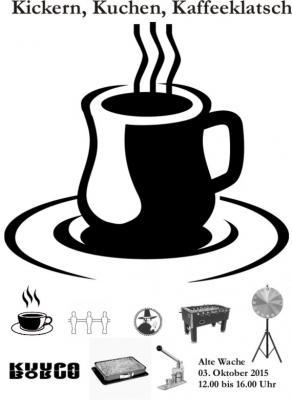 Foto zur Meldung: Kickern, Kuchen, Kaffeeklatsch