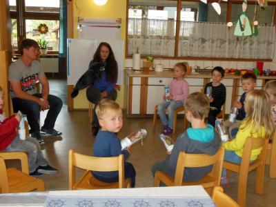 Foto zur Meldung: Zahnarztbesuch im Kindergarten St. Georg