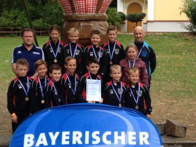 Vorschaubild zur Meldung: E- und F-Jugend im Bayernpark