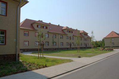 """Foto zur Meldung: Revitalisierung der historischen """"Eisenbahnersiedlung"""" in Elstal"""