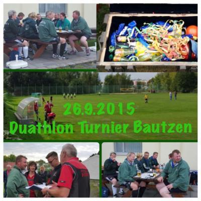 Foto zur Meldung: Schlossgeister gewinnen Duathlon Turnier in Bautzen