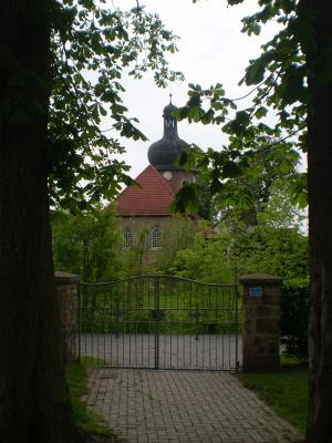 Seit nunmehr 320 Jahren prägt die Wigbertikirche das Ortsbild von Altengottern maßgeblich mit. Foto: D. Frank