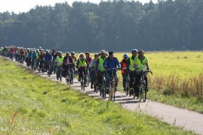 Foto zur Meldung: Gelungene Burgenradtour