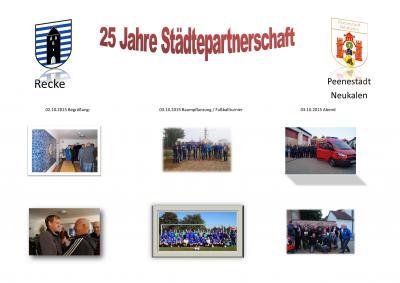 Foto zur Meldung: Städtepartnerschaft Recke / Neukalen
