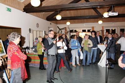 Begrüßung durch den Vorsitzenden des Mehrgenerationenhauses Johannesberg, Alexander Fuchs