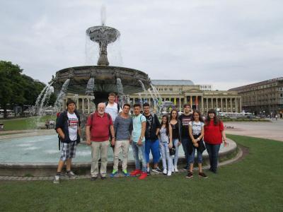 Foto zur Meldung: Abschlussfahrt Klasse 9