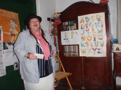 Foto zur Meldung: Besuch bei der Autorin Sybille Bludau-Lindt