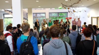 Foto zur Meldung: Begrüßung der 1. Lehrjahre OSZ-Standort Prenzlau