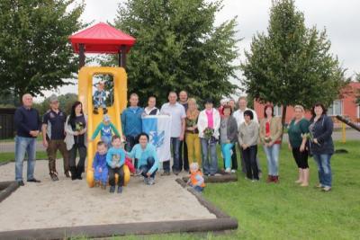 Foto zur Meldung: Spielplätze in Grabow eingeweiht