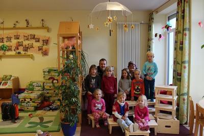 """Foto zur Meldung: 14 kleine """"Schammerl"""" für den Kindergarten"""