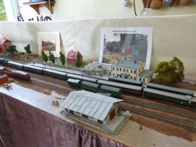Foto zu Meldung: Eisenbahnausstellung Heimatstube Gatersleben