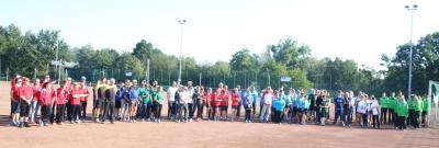 Foto zu Meldung: Die Ringtennismannschaft des VFB auf den Deutschen Vereinsmeisterschaften