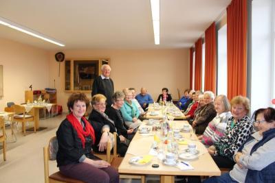 Foto zur Meldung: Unterhaltsamer Nachmittag bei den Senioren