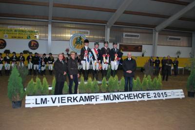 Foto zur Meldung: Offene Landesmeisterschaften der Vierkämpfer mit tollen Ergebnissen für unseren Verein