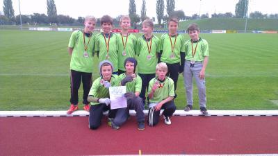 Foto zur Meldung: Leichtathletik Kreisfinale der Jungs in Prenzlau