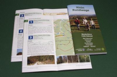 Vorschaubild zur Meldung: Wanderführer & Radwanderkarten im Rathaus erhältlich