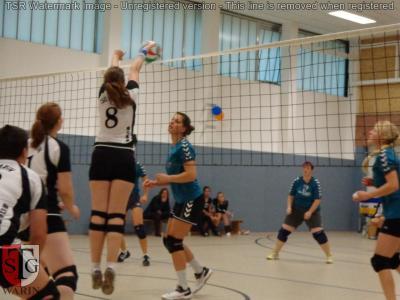 Foto zur Meldung: + + + Volleyball: 3. Spieltag Landesklasse West Frauen + + +