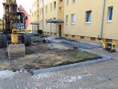 Foto zur Meldung: Die grüne Stadtmauer um Calaus Altstadt wächst