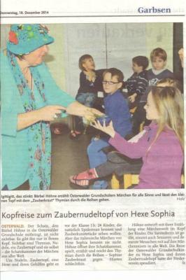 Foto zur Meldung: Märchenerzählerin in der GS Osterwald