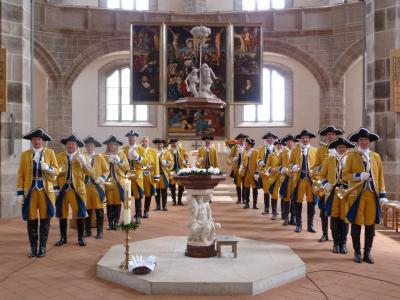 """Foto zur Meldung: """"Hubertusmesse"""" Barockkirche  Reinharz"""