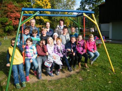 Foto zu Meldung: Schüler spenden für Kinderdorf