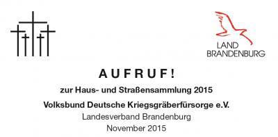 Foto zu Meldung: A U F R U F ! zur Haus- und Straßensammlung 2015 Volksbund Deutsche Kriegsgräberfürsorge e.V.