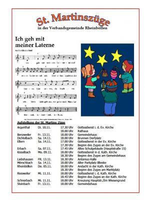 Foto zu Meldung: St. Martinsumzüge in der Verbandsgemeinde Rheinböllen