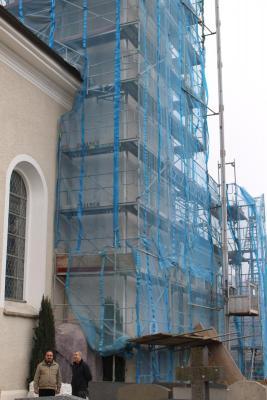 Foto zur Meldung: Außenrenovierung ist dringend notwendig