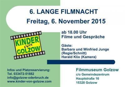 Foto zur Meldung: 6. Lange Filmnacht