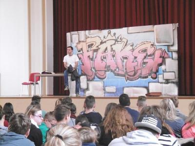 Foto zur Meldung: Theatervorstellung im Dorfgemeinschaftshaus Nachterstedt