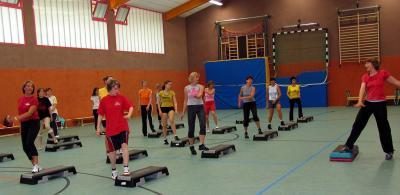 Foto zu Meldung: 10. Aerobic-Marathon