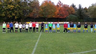 Foto zur Meldung: Freundschaftsspiel SV Großschönach-Lautenbach - Grashoppers Wilhelmsdorf