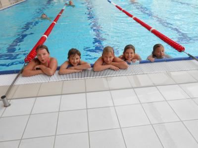 Foto zur Meldung: Schwimmlager Schuljahr 2015/16