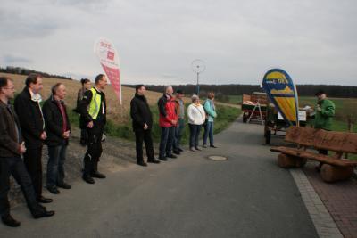 Foto zur Meldung: Planetenlehrpfad am 3 KR eröffnet - Weiteres Highlight am 3 KR zwischen Bettendorf und Holzhausen