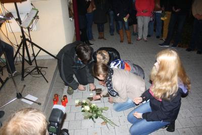 Foto zur Meldung: Gedenken am 09. November