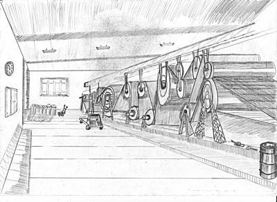 Foto zur Meldung: Die Papiermühle zu M´forth