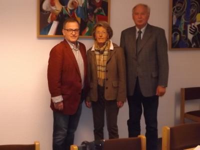 Foto zur Meldung: Verabschiedung vom Caritasrats-Vorsitzenden Franz-Josef Gottlob