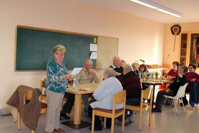 Foto zur Meldung: Die Senioren beim gemütlichen