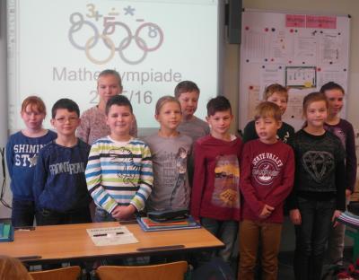 Foto zur Meldung: Matheolympiade der Stadt Schwedt