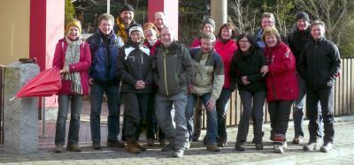 Teilnehmer (leider ohne Sabine, Evi und Manfred)