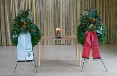 Foto zur Meldung: Ansprachen zur Gedenkfeier zum Volkstrauertag